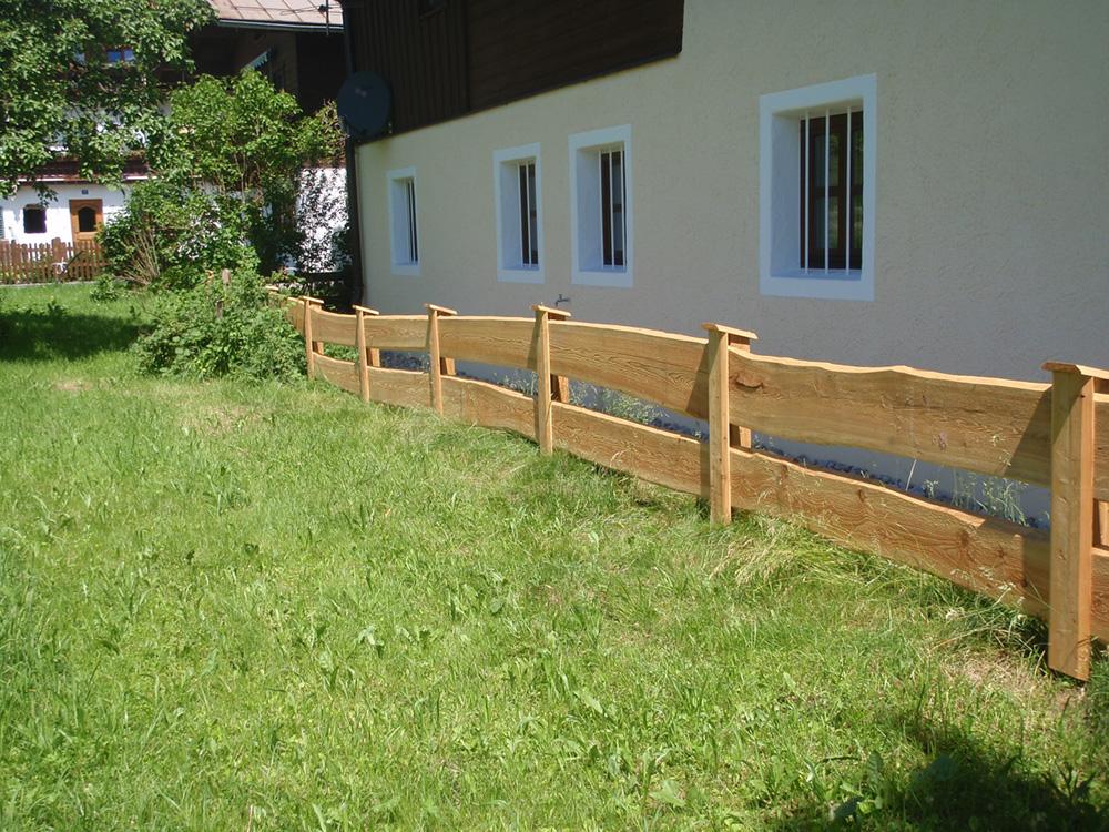 Holz zaun interesting holzzune bauen with holz zaun - Moderne gartenzaune ...